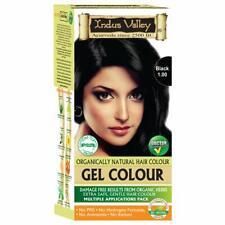 Indus Valley Organic Bio Natural Damage Free Hair Colour Gel, Black, 30ml
