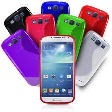 S-Line Hülle für Samsung Handy Tasche TPU Silikon Case Bumper Schutz Slim Cover