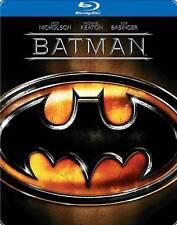 Batman (Blu-ray Disc, 2013) Steelbook NEW
