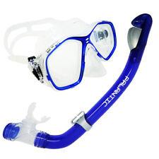 Palantic Blue Jr. Snorkeling Prescription Dive Mask & Dry Snorkel Combo