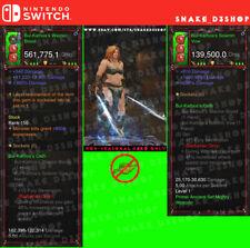 Diablo 3 Nintendo Switch - Modded PRIMAL Weapon Set - Bul-Kathos Oath