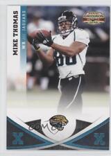 2011 Panini Gridiron Gear Silver Xs #45 Mike Thomas Jacksonville Jaguars Card