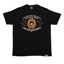 En mi cabeza im baterista T-Shirt Tambores Músico Banda baterista Cumpleaños Regalo de Moda