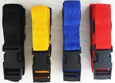 40MM GOLF TROLLEY straps POWAKADDY LUGGAGE FASTENING WEBBING Straps 1 MTR X PAIR