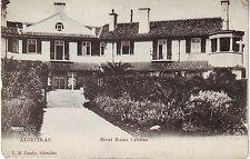 Spain Algeciras - Hotel Reina Cristina undivided back unused postcard