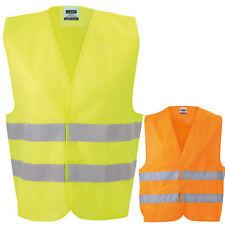 James & Nicholson Safety Vest Sicherheitsweste Arbeitsweste Warenweste Auto