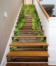 3D Wald Leiter 8129 Stair Risers Dekoration Fototapete Vinyl Aufkleber Tapete DE