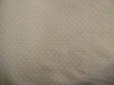 Peach pin spot en polycoton imprime bateaux/robe tissu gratuit p + p vendu par mètre