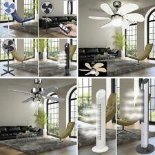 LED Ventilateur de plafond Lampe Tour colonnes Stand climat Glacière Bureau Hall