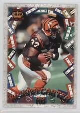 1996 Pacific Litho-Cel Game Time #GT-38 Ki-Jana Carter Cincinnati Bengals Card