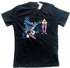 QUIKSILVER Kinder T-Shirt Schwarz mit Motiv