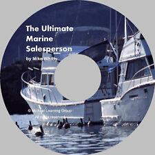 Marine Boat Sales Training - Selling Skills eBook on CD