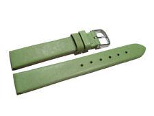 Uhrenarmband echt Leder Business grün 8mm, 10mm, 12mm, 14mm, 16mm,18mm,20mm,22mm