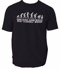 Evolution of Geek T Shirt Homme Funny Nerd informatique Gamer présente théorie