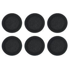 Koss Foam Ear Cushions for Over-Head Portable Stereo Headphones (3 Pack) - Black