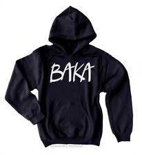 BAKA Anime Hoodie - Funny Japanese Hoodie Fleece Sweatshirt Geek Kawaii Otaku