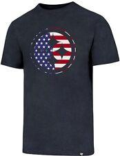 765963efc Pittsburgh Steelers  47 Brand Spangled Banner Short Sleeve Navy T-Shirt