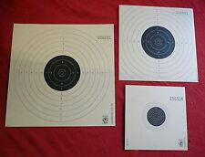 Zielscheiben Schießscheiben für Luftgewehr oder Luftpistole LG LP Scheiben