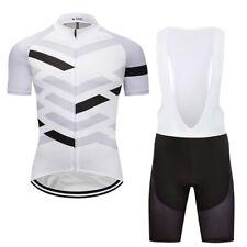 New Mens Cycling Jersey Bib Shorts Sets Road Bike Clothing Gear Short Sleeve