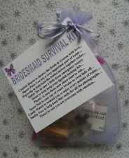 BRIDESMAID Survival Kit KEEPSAKE Maid of Honour Flower Girl Wedding Bridesmaids