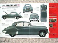 JAGUAR MARK VII 7 IMP Brochure: 1953,1954,1955,
