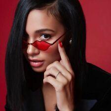 Women Sunglasses New Sexy Lips Shape Brand Fashion Small Metal Frame Retro 2020