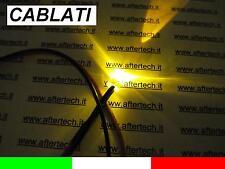 10 LED AMARILLO 5mm 10.000mcd CABLEADA 30cm CON RESISTENCIA 12v CABLE
