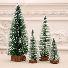 5Pcs/lot Mini Christmas Tree Festival Home Party Ornaments Xmas Decoration Gift
