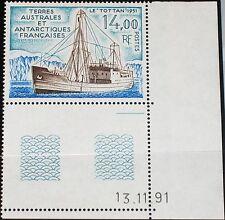Taaf FSAT 1992 Maury 172 294 171 D bateaux supply ship navire d'approvisionnement MNH