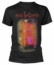Official Alice In Chains T Shirt Jar of Flies Album Cover Black Mens Metal Rock