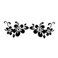 "10.5"" FLOWERS Vinyl Decal Sticker Car Window Laptop Plant Flower Pretty"