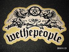1 authentiques WETHEPEOPLE BMX Cadre Vélo Autocollant/Autocollant WTP #6 aufkleber