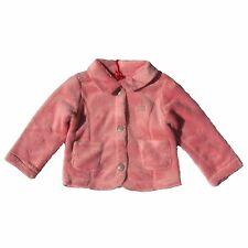 CHIPIE Cardigan Fleecejacke rosa Hunde Stitching weich 62 68 87 80 86 92 98 NEU
