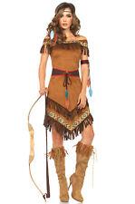 Brand New Native Indian Princess Adult Costume
