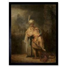 REMBRANDT VAN RIJN DUTCH MILL OLD ART PAINTING POSTER PRINT BB6309A
