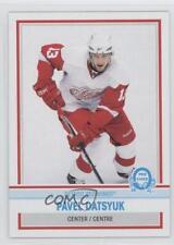 2009-10 O-Pee-Chee Blank Retro Back #PADA Pavel Datsyuk Detroit Red Wings Card