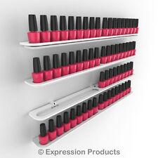 x4 Nail Polish Rack / Shelf will hold 18 Opi , China Glaze Polishes  (0019-003)