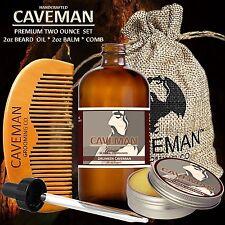Handcrafted Caveman® 2oz BEARD OIL 2oz BEARD OIL  KIT + Caveman® BEARD COMB