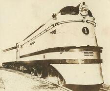 VINTAGE TRAIN HIAWATHA MILWAUKEE ROAD RR TRACKS C.M.S. P&P ARTISTIC TRACKS PHOTO