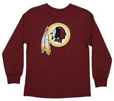 Outerstuff NFL Youth Washington Redskins Long Sleeve Primary Logo Tee