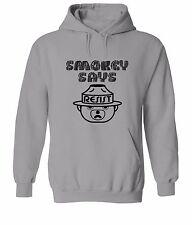 Smokey Bear Says Resist Sweater Jacket Pullover Hoodie Men Top Sweatshirt Hoody