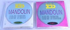 Mandolina Cuerdas Bronce calibres 010-032 de Acero de Plata de la herida mandelin 8 Cuerdas