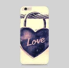 Love Lock Heart Treasure Symbol Phone Case for IPhone HTC Samsung Sony LG Huawei