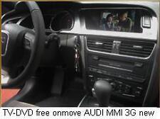 Sblocco TV DVD Audi A5 A6 A7 A8 Q7 R8 MMI 3G OBDII