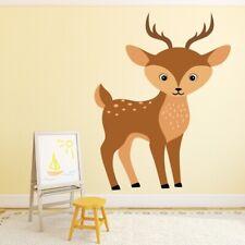 Cerf mignon Garderie Sticker Muraux WS-50746