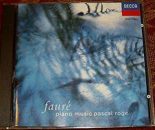 Faure Piano Music Roge DECCA W.GERMANY PDO 1ST ED