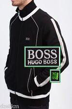 c9361ccab86d NWT Hugo Boss Green Label by Hugo Boss Fancy   Stylish Track Jacket in Black