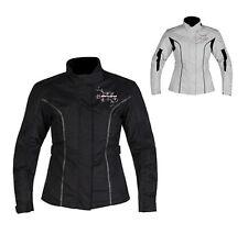 Nitro N-72 Rebecca Ladies Waterproof Motorbike Motorcycle Jacket CE Armoured