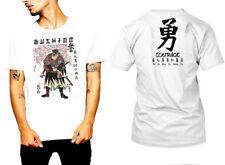 Samurai T-Shirt Japanese Assassins Bushido Warriors Era Katana Sword Edo tee