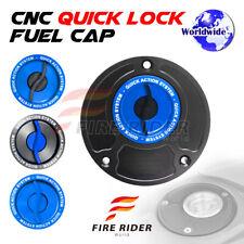 FRW BK/BU CNC Quick Lock Fuel Cap For Honda CBR 929 RR 00-01 00 01